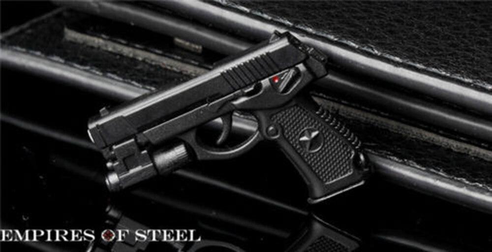 "US 1//6 QSZ92 Semi-automatic Pistol Handgun Weapon Model Toys F 12/"" Action Figure"