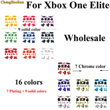 16 colors Bumper Triggers Buttons Plastic Chrome Joysticks Full Set D pad LB RB LT RT ABXY keys For Xbox One elite Controller стоимость