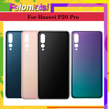 10Pcs/lot OEM Back Battery Glass Cover Replacement For Huawei P20 Pro P20pro Rear Housing Chassis Door Case