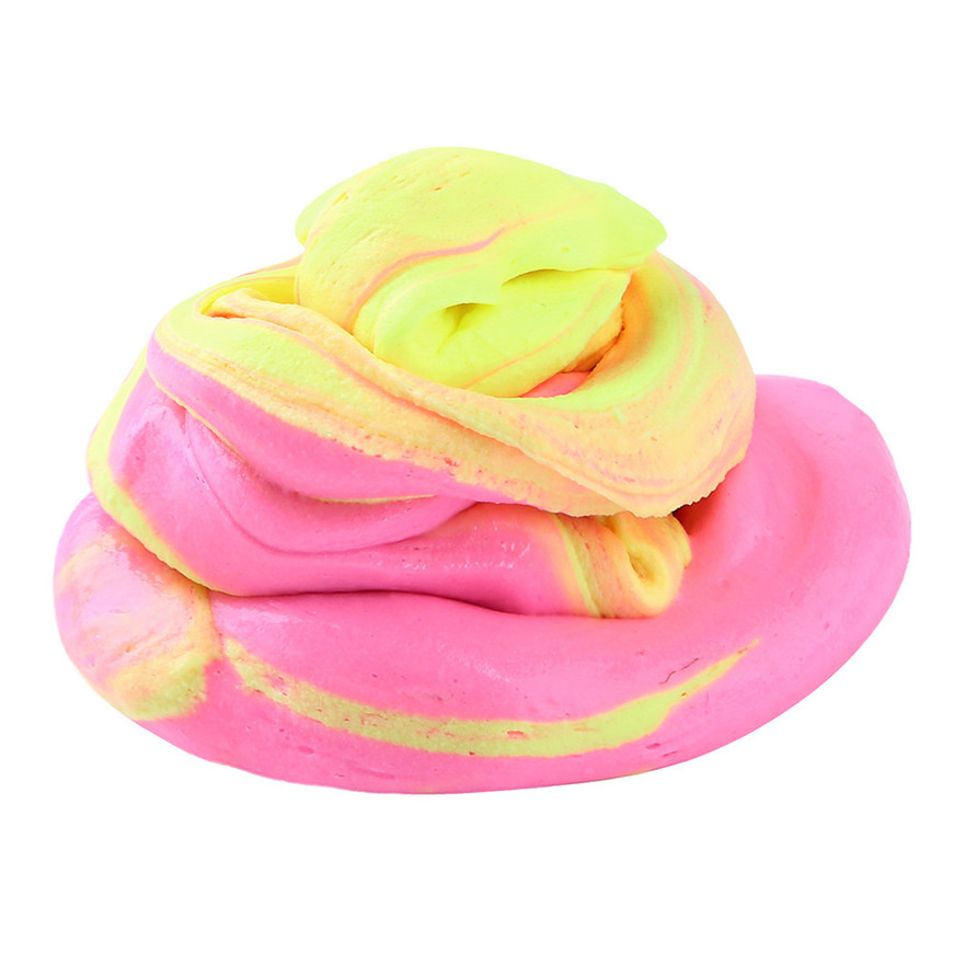 2017 # Fluffy Floam Slime Scented Stress Relief No Borax Kids Toy Sludge Toy