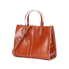 luxury handbags  for 2019 New leather lady's bag and cowhide handbag with fashionable one shoulder bag with large capacity fashionable women s shoulder bag with solid colour and embossing design