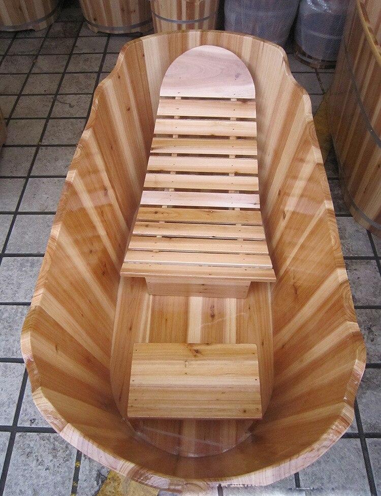 wood soaking tub with chairwooden tub for soakingwooden bathtubin