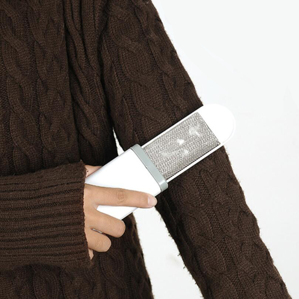 1 Pc Removedor De Pelo Portátil Cepillo Estático De Piel Mágica Cepillos De Limpieza Dispositivo Reutilizable Cepillo De Polvo Electrostático Limpiador De Polvo 100ga