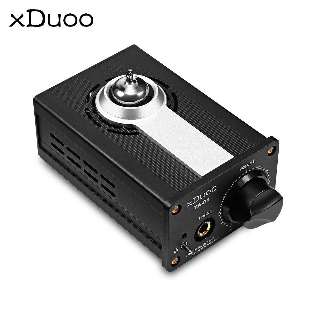 Original XDUOO TA 01 Hifi 24bit/192KHz USB DAC + Tube Headphone Amplifier Tube Power Amplifier Class A Buffer Amplifier|Headphone Amplifier| |  - title=