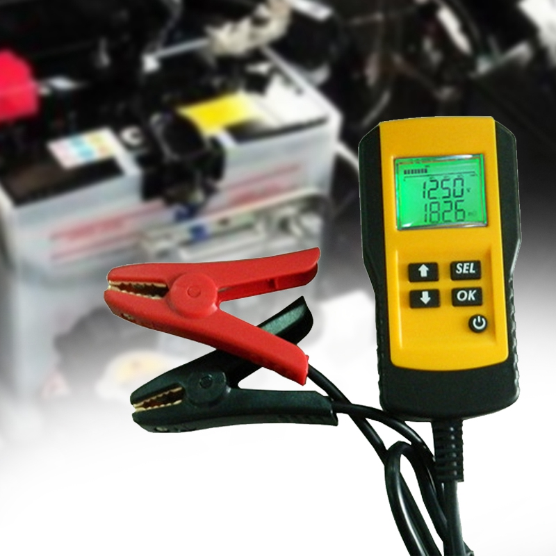 AE300 12V Car Battery Digital Tester Battery Tester Analysis