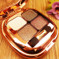 4Colors Diamond Eyeshadow Pallete Naked Maquiagem Profissional Natural Luminous Long-lasting Eye Makeup Beauty Tools  paleta