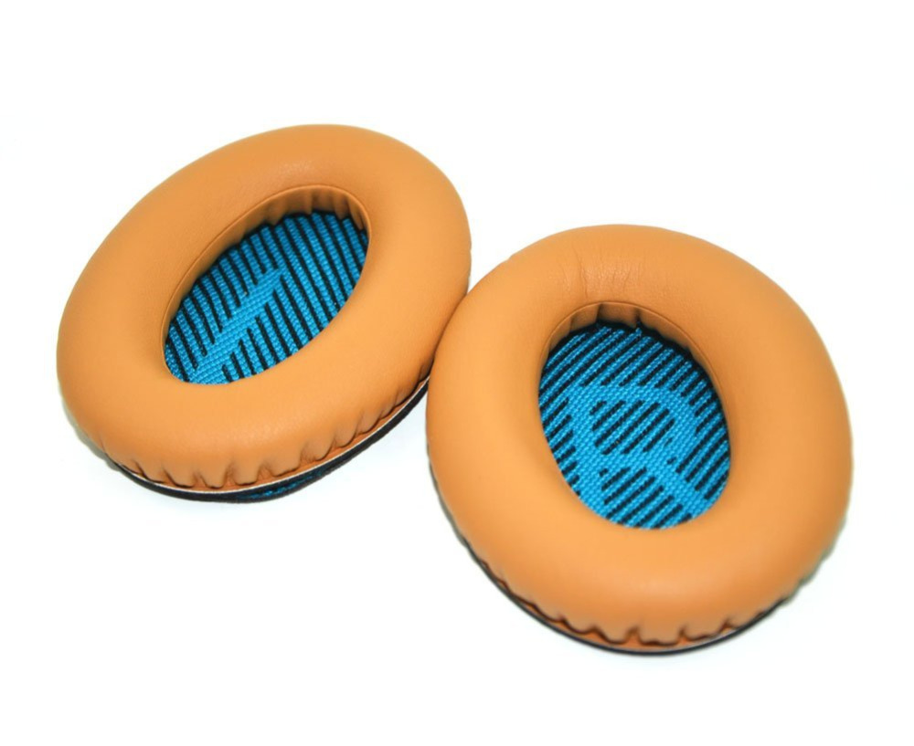 NSEN Replacement Ear pads Earpads Cushion for BOSEQC15 QC2 QC15 QC25 AE2 AE2I AE2W Headphones-Brown