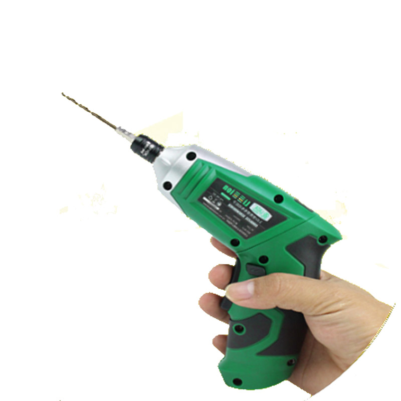 цена на Mini Portable 3.6V Battery Rechargeable Cordless Electric Screwdriver LED Light Household Dremel Electric Drill Power Tool