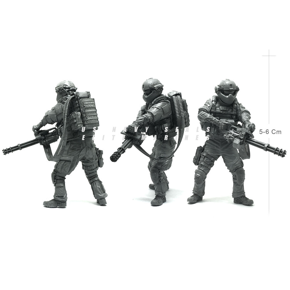 1/35 U.S Army Modern Seal Commando Destroy Magic Soldier Resin Model Figure Kit Gifts For Boys