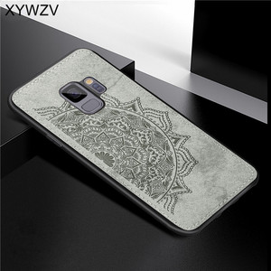 Image 4 - For Samsung Galaxy S9 Case Soft TPU Silicone Luxury Cloth Texture Hard PC Phone Case For Samsung Galaxy S9 Cover For Samsung S9