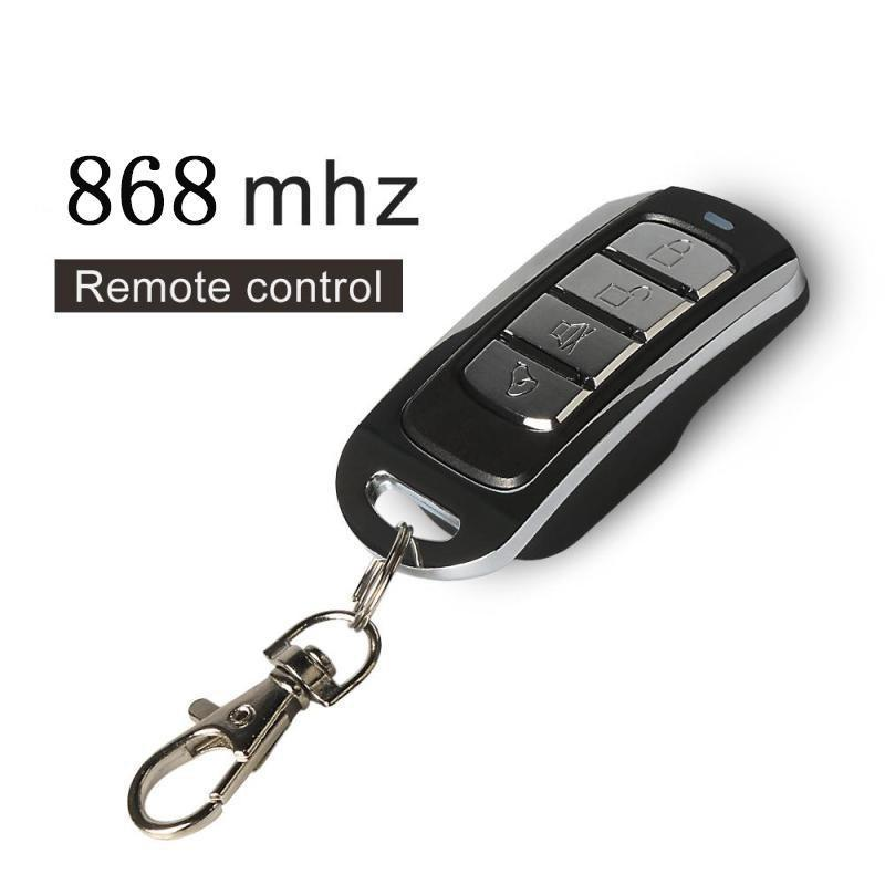 868MHz 4-Channel Wireless Remote Control 868 MHz Copying Transmitter Duplicating Cloning Function Key Fob Relay Receiver Module hormann hs1 868 hs2 868 hs4 868mhz remote control replacement