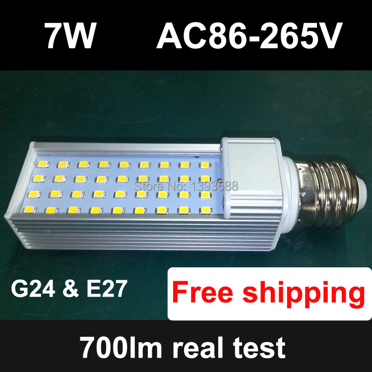 Lights & Lighting Led Bulbs & Tubes Pf 0.9 E27 G24 Led Pl Lamp Light 7w Light Bulb Ac 85-265v Ac85-265v 110v 220v 36led Smd 2835 To Make One Feel At Ease And Energetic