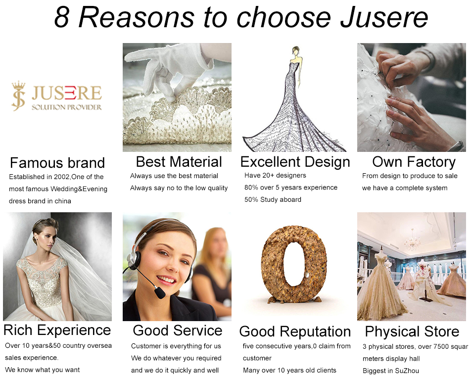 8reasons to chose jusere-1 luxury beading flowers whole dress cathedral long train v neckline illusion long sleeves big a line bridal wedding dress 2018 Luxury Beading Flowers Whole Dress Cathedral Long Train V Neckline Illusion Long Sleeves Big A line Bridal Wedding Dress 2018 HTB1yX1BPFXXXXXfXXXXq6xXFXXXK