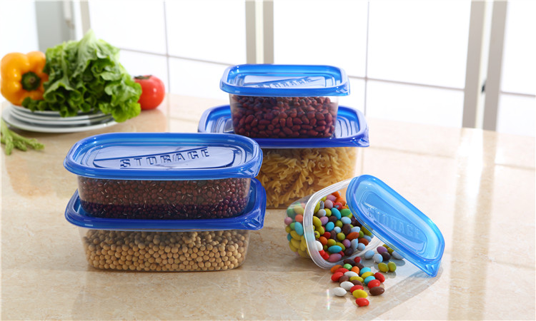 Stackable Food Storage Container MEAL PREP CONTAINERS Reusable Japanese Bento Lunch Box Food Prep Boxes with lidSet of 10-in Storage Boxes u0026 Bins from Home ... & Stackable Food Storage Container MEAL PREP CONTAINERS Reusable ...