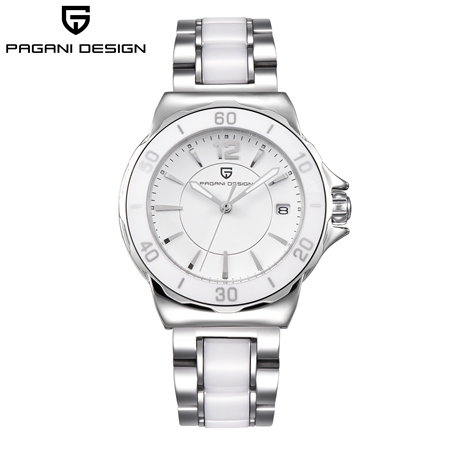 Pagani Brand Ladies Dress Quartz Watches Relogio Feminino Diamond Gorgeous Analog Display Ceramic Black Wristwatch For Women | Fotoflaco.net