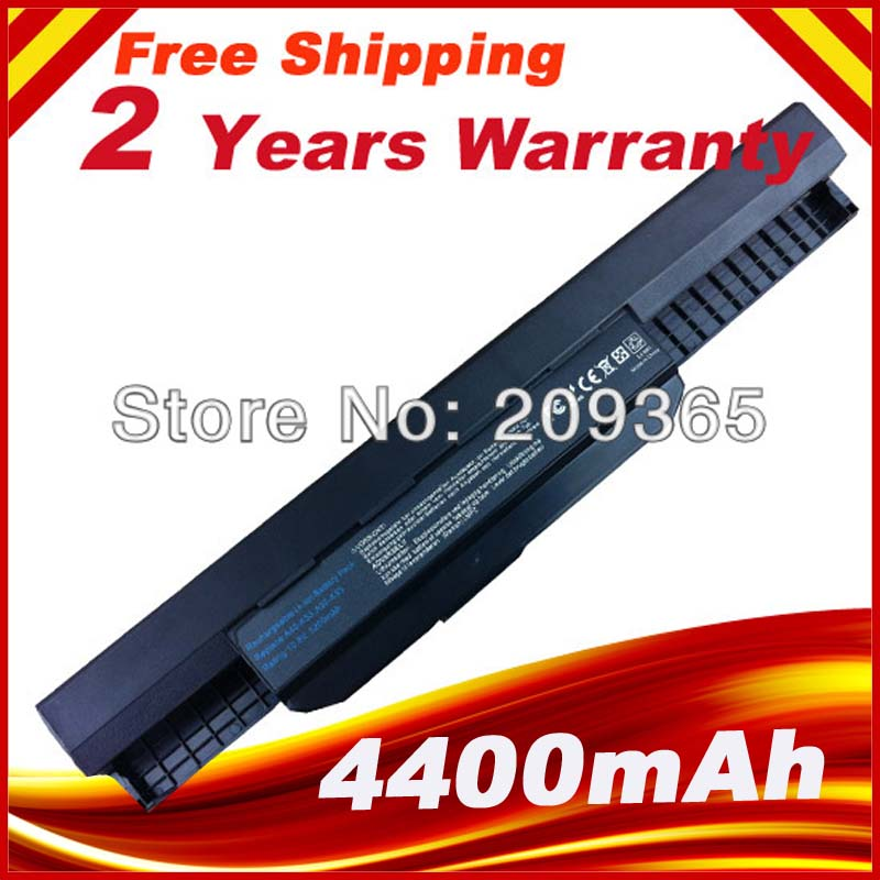 5200mAh laptop battery for Asus A32 k53 A42-K53 A31-K53 A41-K53 A43 A53 K43 K53 K53S X43 X44 X53 X54 X84 X53SV X53U X53B X54H5200mAh laptop battery for Asus A32 k53 A42-K53 A31-K53 A41-K53 A43 A53 K43 K53 K53S X43 X44 X53 X54 X84 X53SV X53U X53B X54H