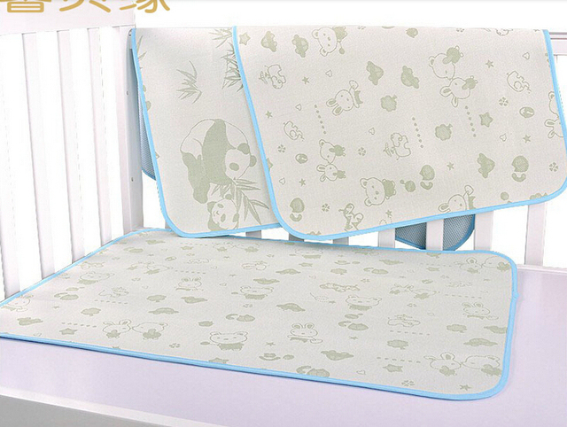 Bamboevezel matras sheet kind kinderen bed mat babybedje vel