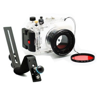 For Sony RX100 DSC RX100 40m/130ft Waterproof Underwater Housing Diving Case Cover + Diving handle + Filter