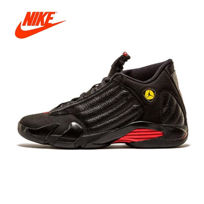 Original New Arrival Authentic NIKE Air Jordan 14 Retro Last Shot - 311832-010 Mens Basketball Shoes Sneakers Sport Outdoor hepa фильтр filtero fth 45 lge для lg page 10