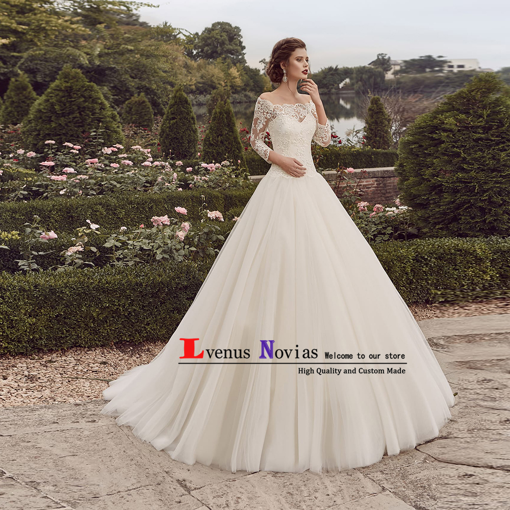 Vestidos De Novia Cheap Vintage Wedding Dresses 2019 Robe
