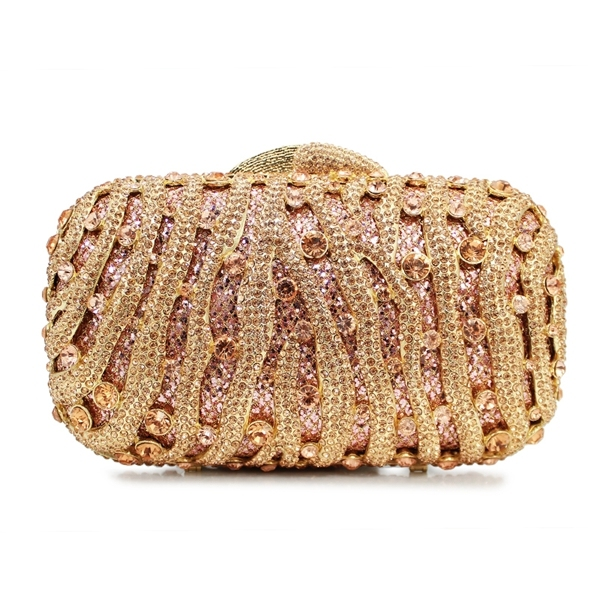 Champagne Region Interior Design Traditional Rustic: Champagne New Design Metal Clutch Bag Latest Design Ladies