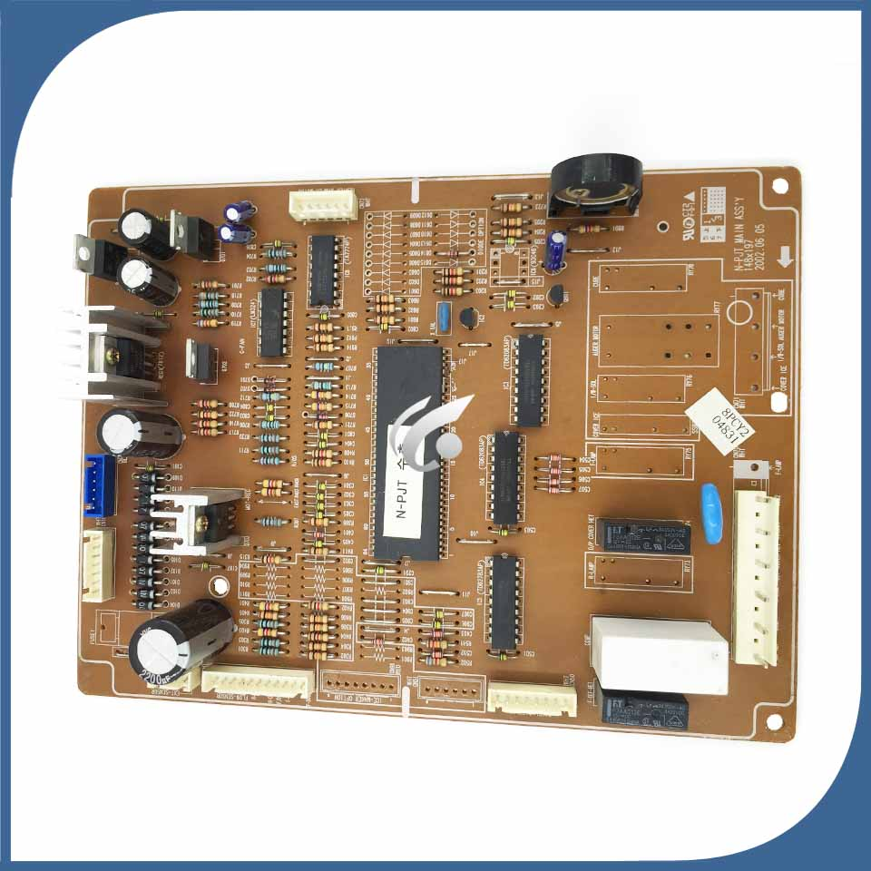 95% new used for refrigerator Computer board DA41-00401A DA41-00401C DA41-00401A good working 95% new original good working refrigerator pc board motherboard for samsung rs21j board da41 00185v da41 00388d series on sale