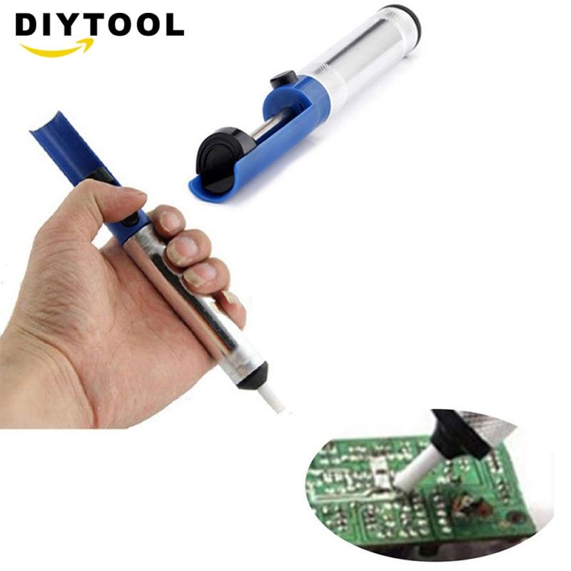Vacuum  Hand Tool Solder Sucker Suction Tin Pen Desoldering Pump Iron Desolder