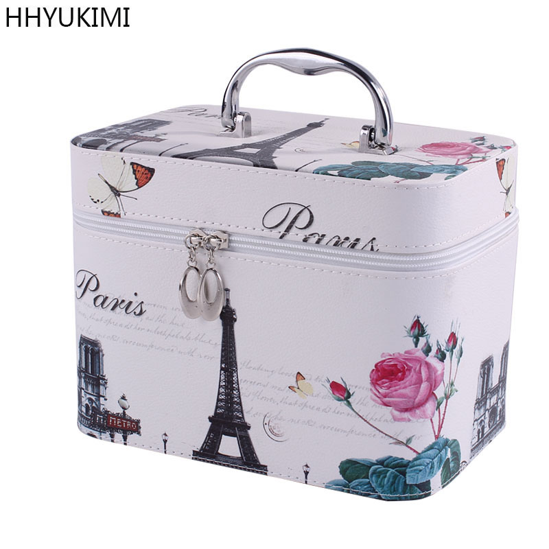 Pu Makeup Bag Cosmetic Case Professional Storage Bag Beauty Box Travel Cosmetic Case Makeup Organizer
