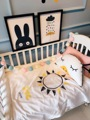 Cotton Cartoon Images Sun Rain Pattern Mulberry Silk Quilt Baby Crib Child Paternity   Air Conditioning  Silk Quilt 1Pcs