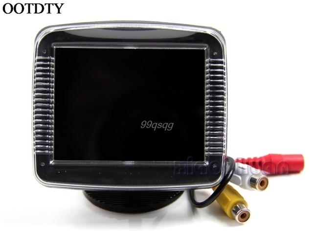 3.5 Inch TFT LCD Screen Monitor Reverse Camera Car Rear View Backup Drop shipping