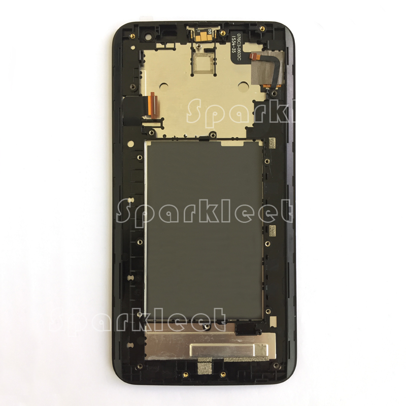 6.0 LCD+Frame Touch Screen Digitizer Assembly For Asus Zenfone 2 Laser ZE601KL Z011D Replacement Part Free Shipping Black