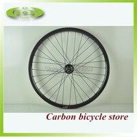 High quality Chinese carbon MTB clincher wheelset 27.5er full T700c carbon wheels with Novatec D041 042B hub