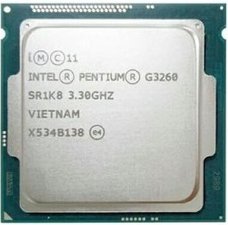 Intel Processor G3260 LGA 1150 22nanometers 53W 3.3GHz Dual-Core Desktop Processor Tested 100/% Working