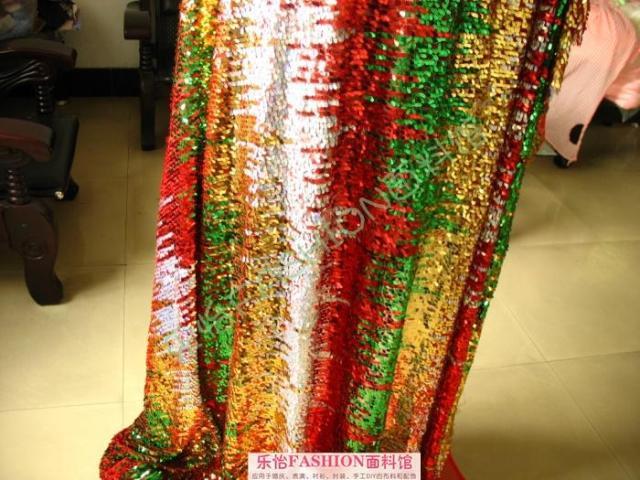 Sparkly Sequined Lace Fabric Διάφορα Χρώματα Stripe - Τέχνες, βιοτεχνίες και ράψιμο - Φωτογραφία 6