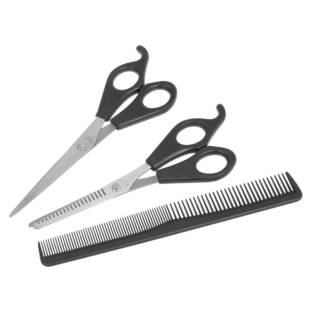 Beauty & Health Amiable 3pcs/set Hair Cutting Thinning Scissors Set Hair Scissors With Comb Professional Hairdressing Shears Styling Scissors Set Fashionable And Attractive Packages Hair Scissors