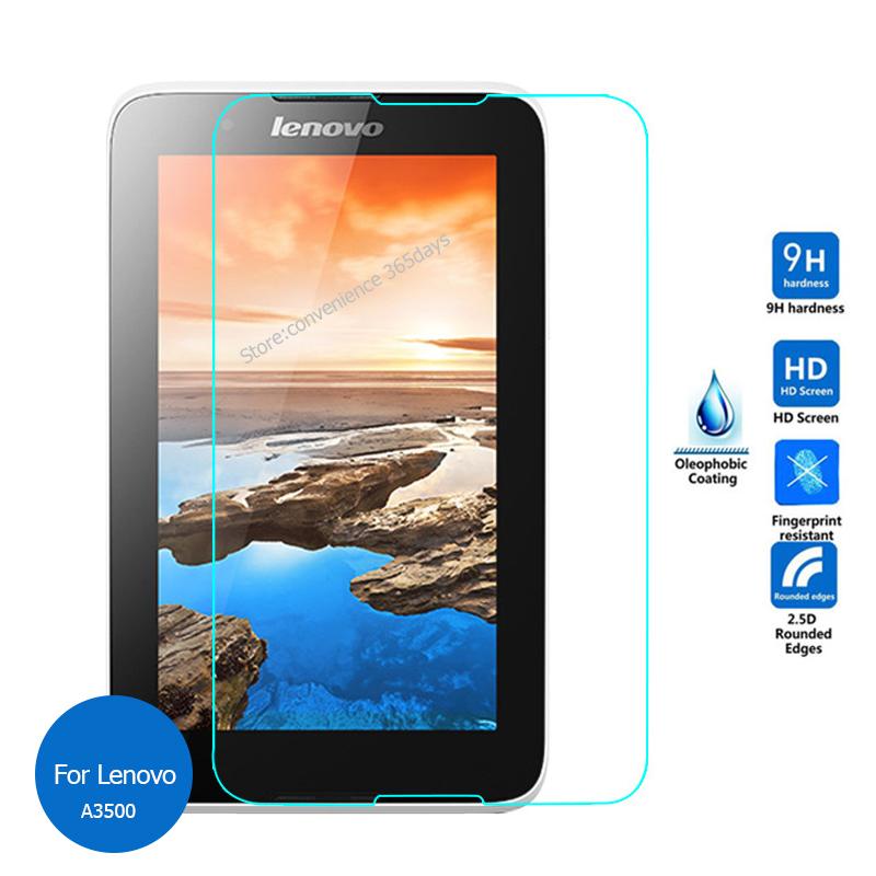 For Lenovo Tab A7-50 Tempered Glass Screen Protector 2.5 9h Safety Protective Film On A3500-H A3500-F A3500 A7 50 A 3500