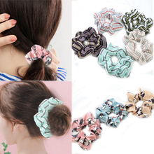 2018 New Headwear Graceful 1PC Strip Hair Ring Elasticity Hot Sale Unique Gifts 12 Models hair accessories Adjustable scrunchie