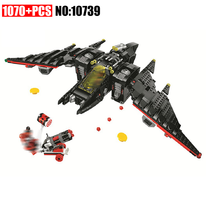 10739 BATMAN MOVIE The Batwing Building Blocks kids Educational Bricks toys Christmas Gift for children Compatible