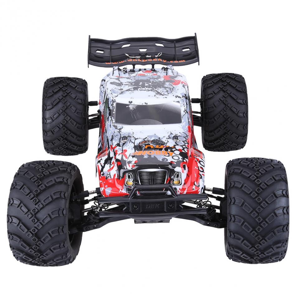 2.4GHz RC Vehicle Resistant Wheels with Anti-skid Surface 1:8 RC Model Toy Remote Control Four-Wheel Drive 70KM/ H Car hot sale super children electric car double drive 2 4 g remote control toy car baby stroller child four wheels vehicle ww0058