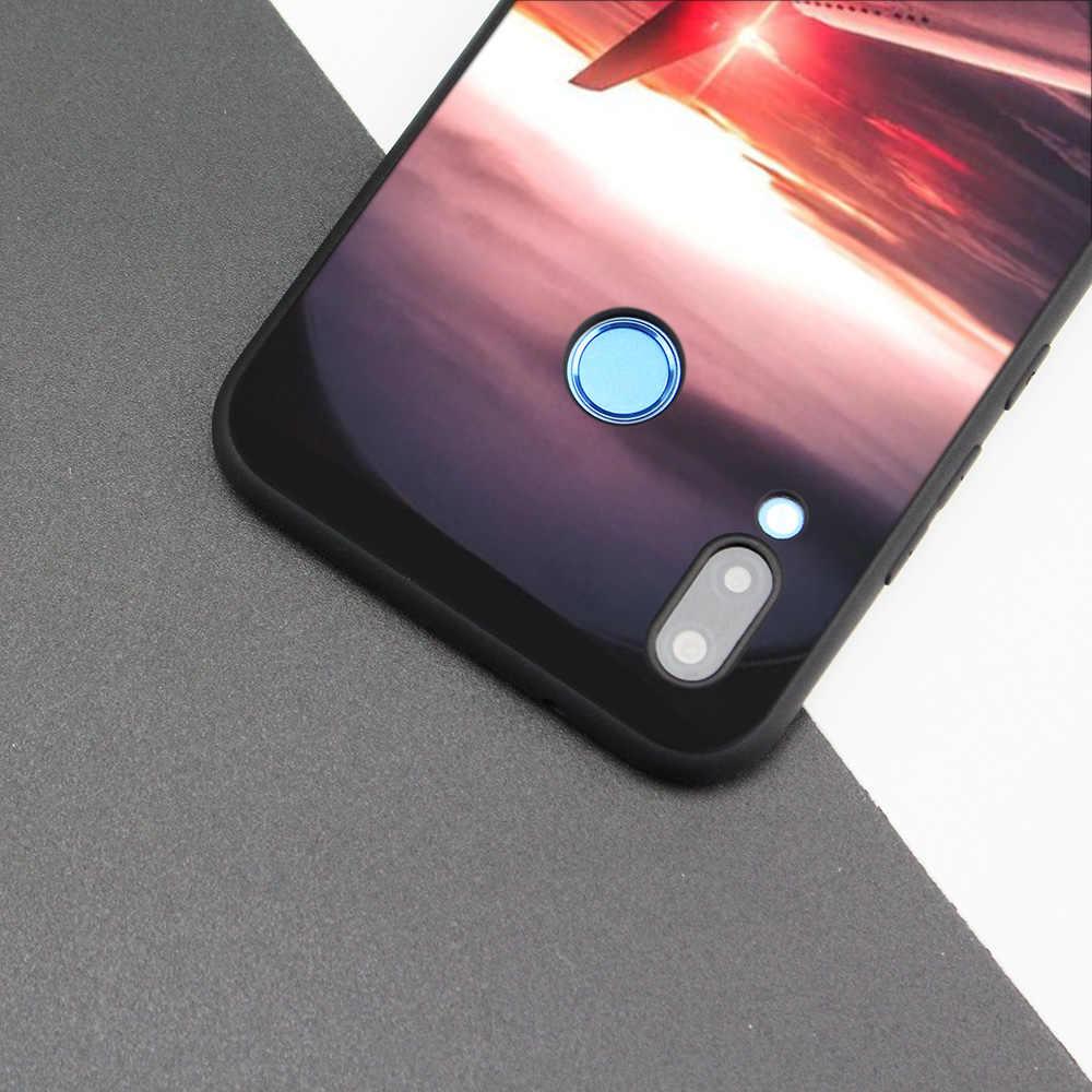 Силиконовый чехол для huawei P20 P10 P9 P8 Lite Pro 2017 P Smart + 2019 Nova 3i 3E чехол для телефона s самолет аэроплан