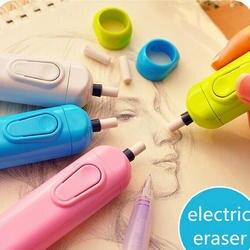 Derwent батарейках ластик электрический ластик автоматический школьные принадлежности кожа канцелярские детский подарок материал эсколар