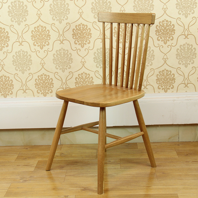 Nordic IKEA Creative Windsor Chair American Country Wood Dining Table  Minimalist Modern Furniture Chair Combination