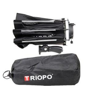 Image 5 - TRIOPO 65 см зонтик софтбокс Портативный Открытый восьмиугольник для Godox V860II TT600 TT685 YN560 III IV TR 988 Вспышка Speedlite Мягкая коробка