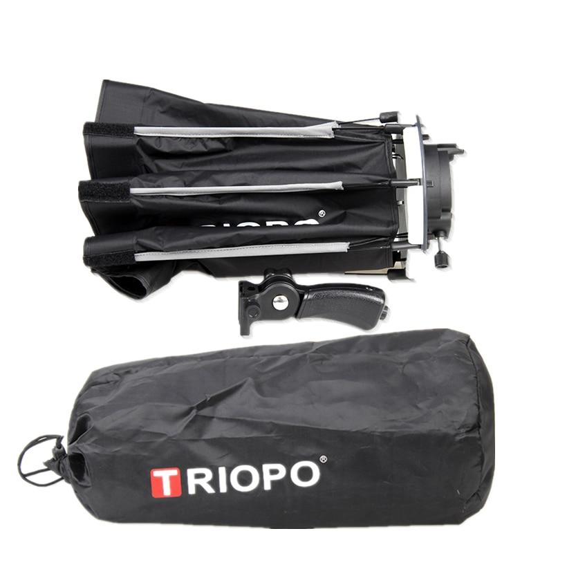 TRIOPO 65cm umbrelă softbox portabil în aer liber octagon pentru - Camera și fotografia - Fotografie 6