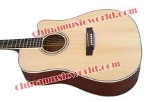 BEST seller! Solid Spruce Top Singer cutaway/ Sapele Back & Sides/ 41″ Acoustic guitar (AMT-081)