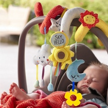 Newborn Baby Toys 0-3T Stuffed Toys Cart