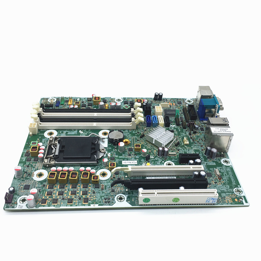 Excellent 656933 001 For HP 8300 Elite SFF 8380 MT Desktop Motherboard 657094 001 Q77 LAG