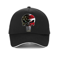 American Sniper Chris Kyle Men cap Punisher Skull Navy Seal Team Baseball caps Fashion USA Flag Camo adjustable hat snapback