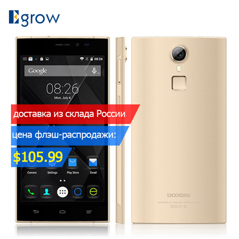 DOOGEE F5 Android 5.1 MTK6753 Octa-Core-Handy 5,5 zoll 2g/3g/4g Handy 3 gb RAM + 16 gb ROM Smartphone