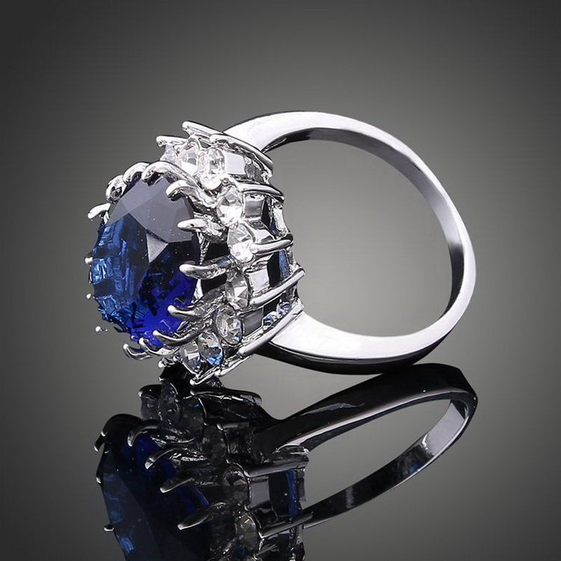 Penjualan panas kualitas atas Fashion wanita mewah Elegent kristal - Perhiasan fashion - Foto 4